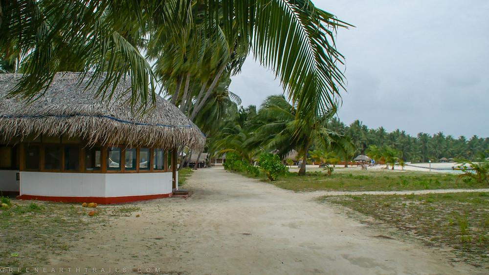 Cottages at Bangaram Island Lakshadweep