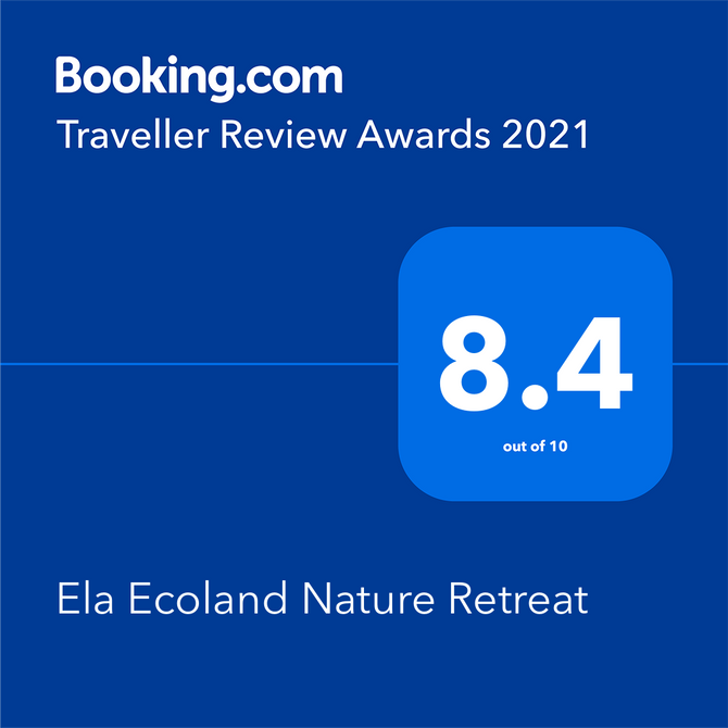 What does Booking.com traveller review award mean to us