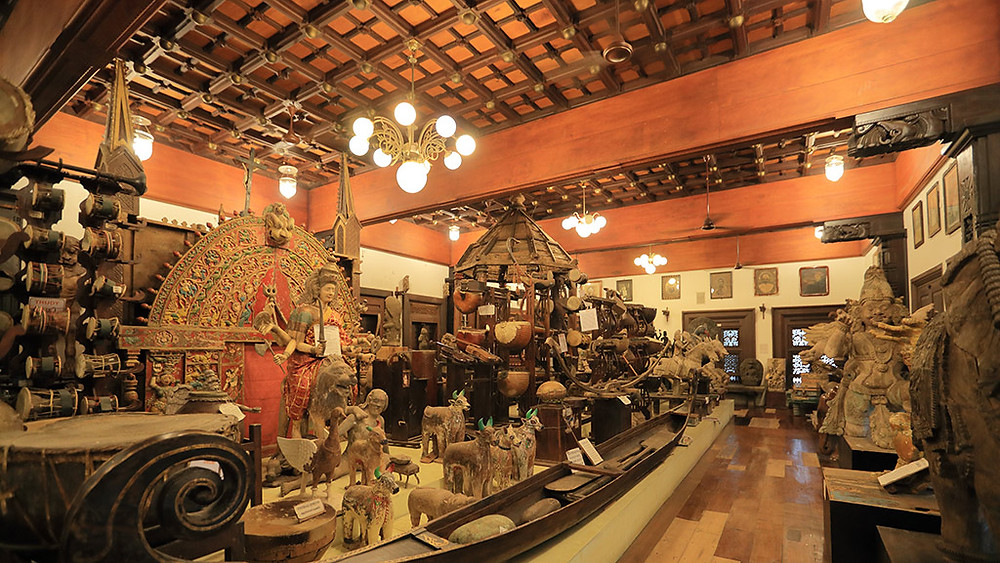 The Folklore museum at Thevara in Cochin