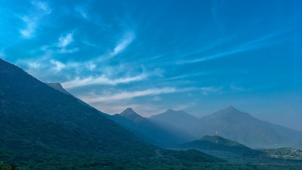 Meghamali hills