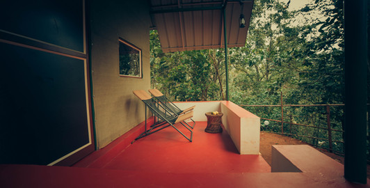 Luxury Tents - Balcony