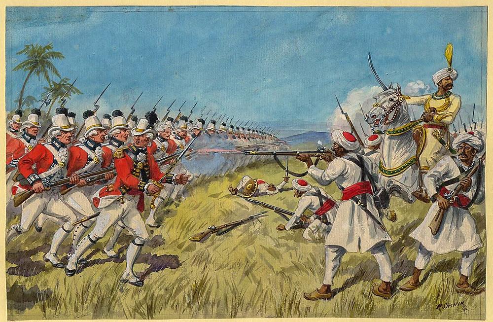 Ango Indian war Madurai