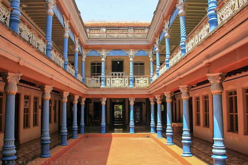 Chettinad Mansion at Kandkathan Chettinad