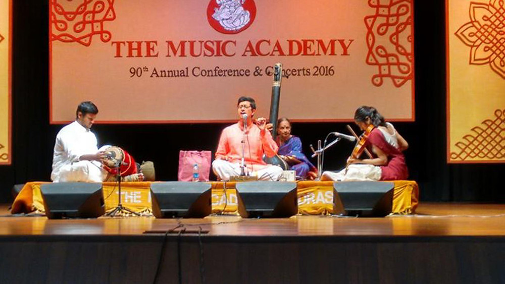 The Annual conference and concerts - Music Academy Chennai