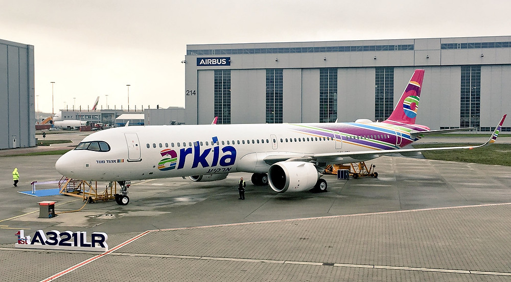 Airbus A321LR Arkia Airlines