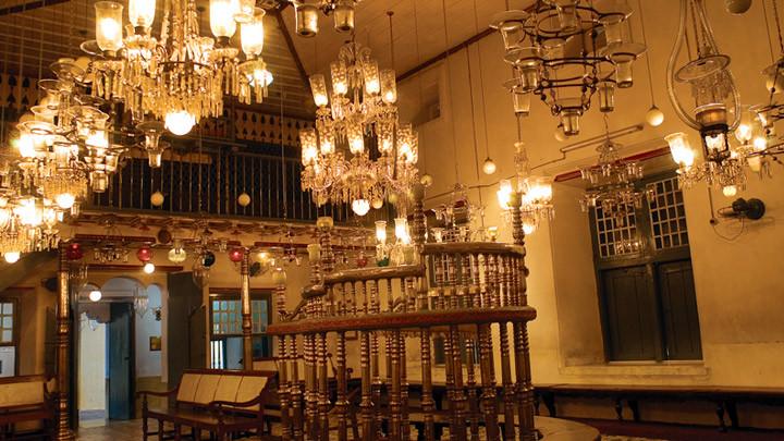 Paradeshi Synagogue in Kochi