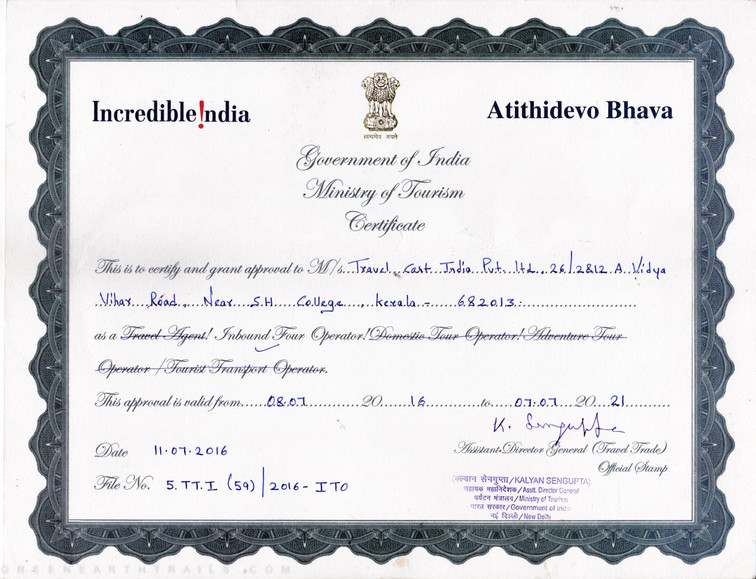 Ministry of Tourism Govt of India