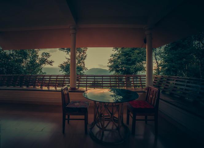 Valley View room Balcony