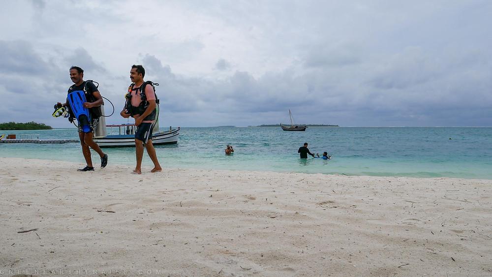 Back after a Scuba DSD at Bangaram Lakshadweep Islands