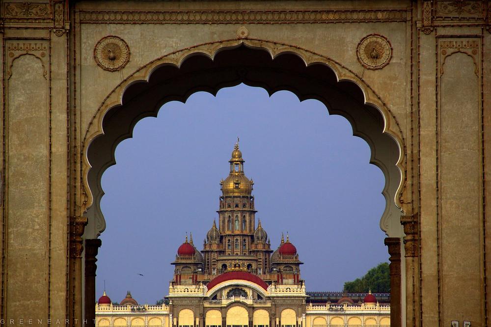 Entrance of the Mysore Palace