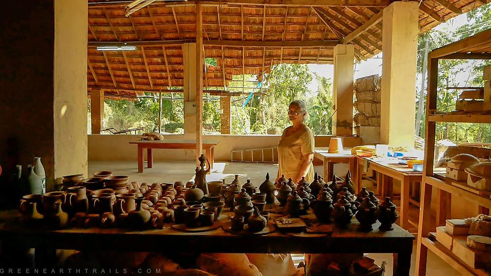 Exploring Clayfingers Kerala Studio Pottery
