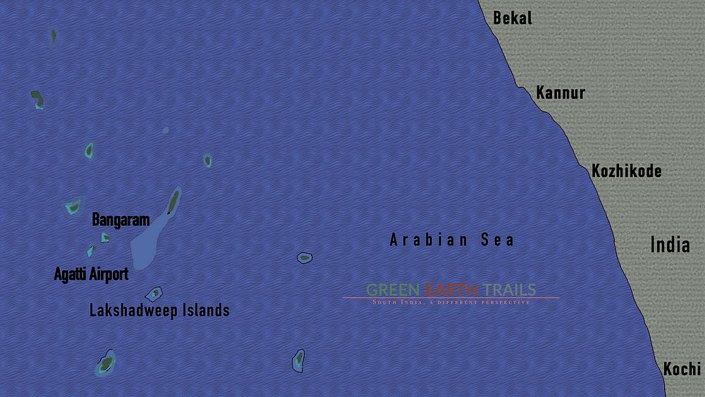 Where is Lakshadweep Islands