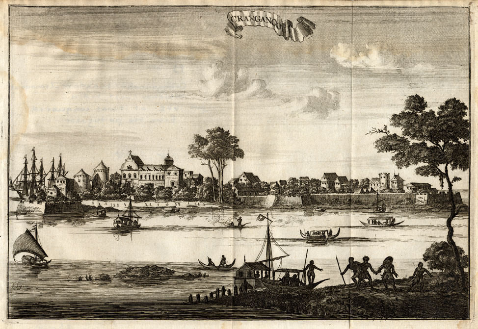 Muziris Port depiction