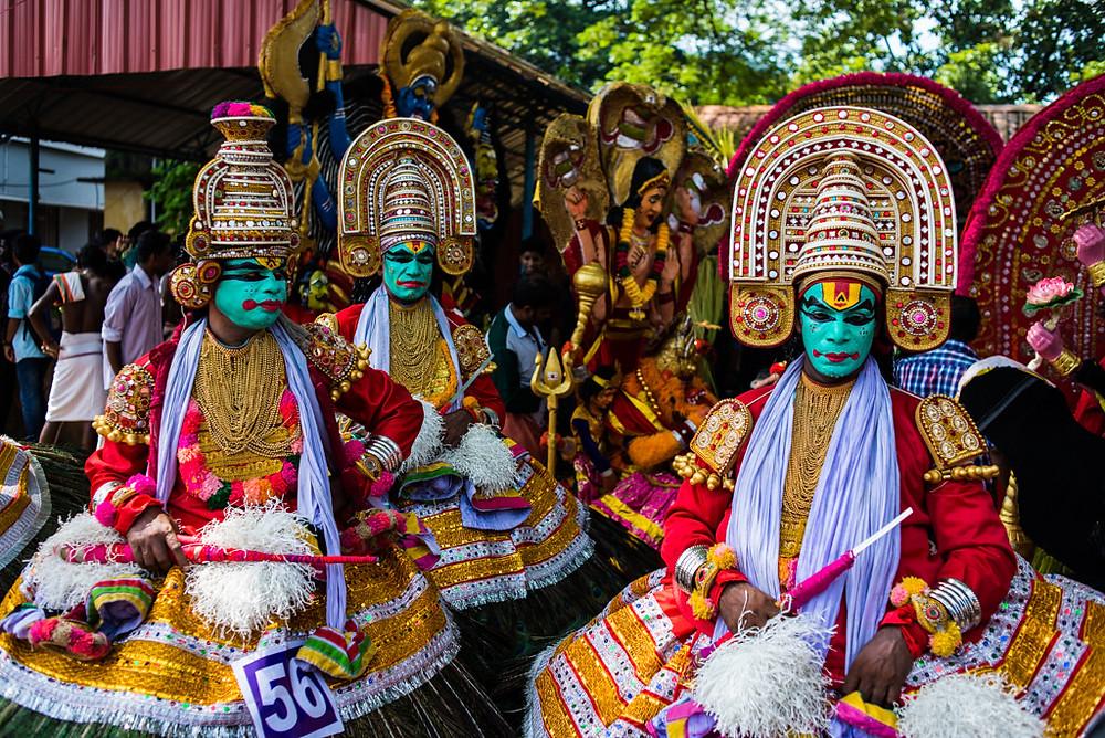 Athachamayam festival at Thripunithara near Cochin