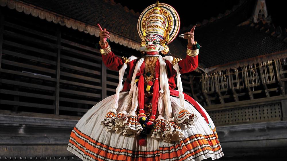 Kathakali dance performance