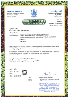 Spices Board Dealer Certificate_page-000