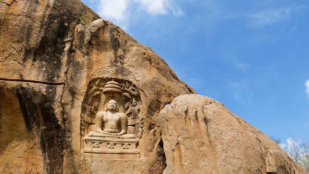 Jain caves of Madurai