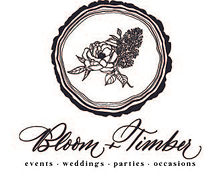 BloomTimberBlack EventsWeddingsPartiesOc