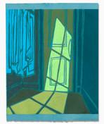 Light on the Wardrobe Door