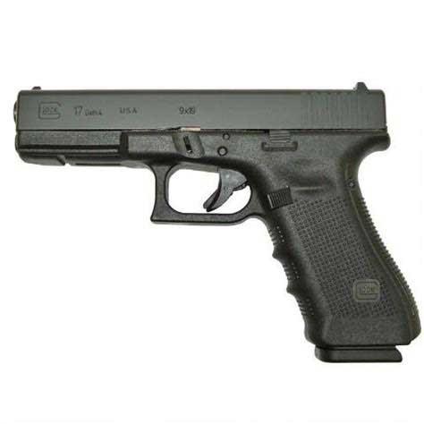Glock 17 Gen 4 side view