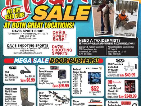 "Davis ""Mega Sale"" March 28 & 29"