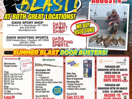 Davis Sport Shop Summer Sale