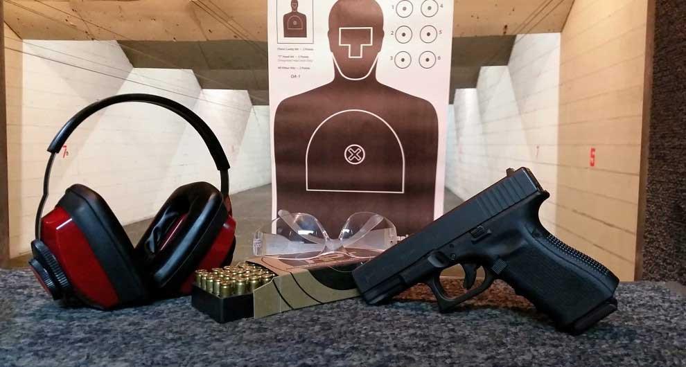 Pistol Shooting Course - Live Fire