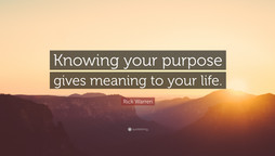 Our Purpose in Life?!
