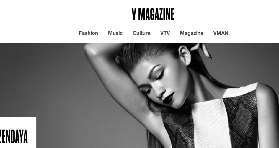 Zendaya, November 2014 Issue