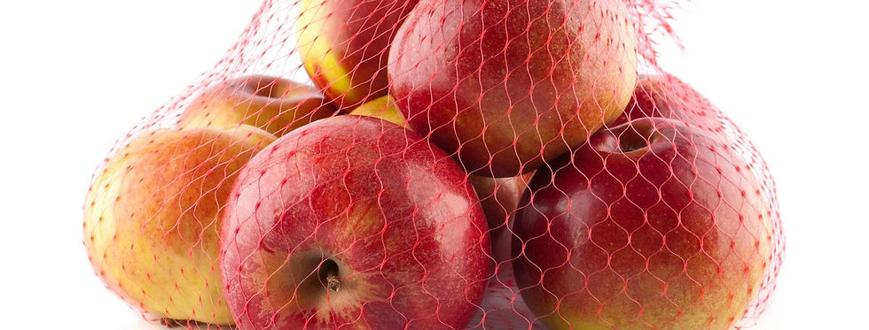 Ябълки червени дребни 2кг мрежа клас 2 (1.80лв/1кг)
