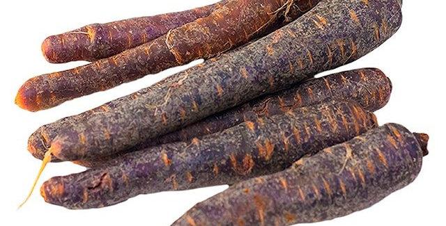 Моркови лилави 500гр.