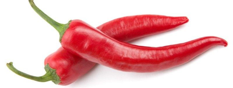 Чушки люти Cayenne червени 100гр.
