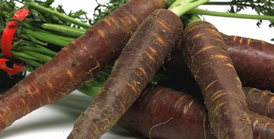 Био моркови лилави пресни 500гр. Моравско село