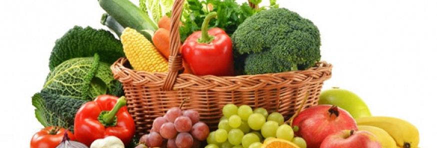"""Кошница """"Здраве"""" - микс плодове и зеленчуци"""