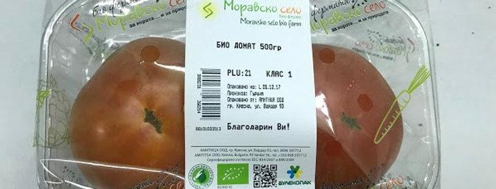 Био домати червени 500гр. Моравско село