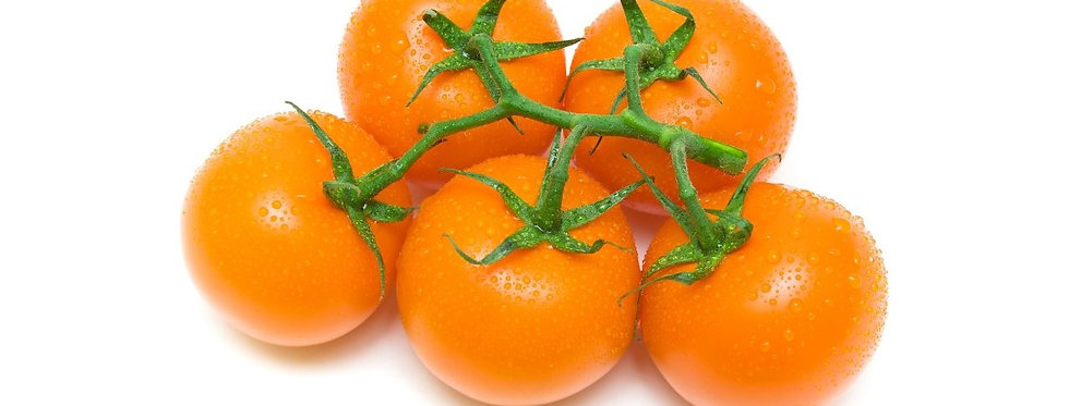 Домати на клонки оранжеви 500гр.