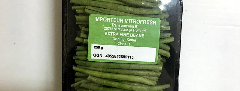 Зелен фасул тънък 250гр.