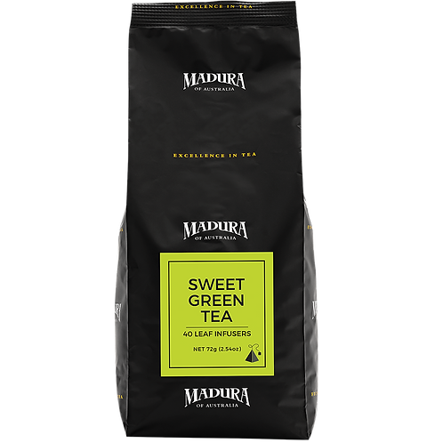 Tea Bags Madura Sweet Green Silk Infuser 240pk