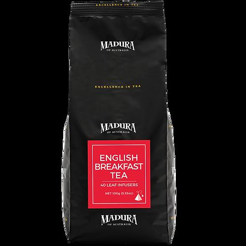 Tea Bags Madura English Breakfast Silk Infuser 240pk