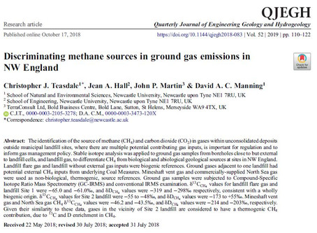 Research on Ground Gases