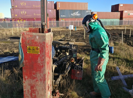 Site Investigation, Risk Assessment & Remediation of DNAPL at a Site in Grangemouth