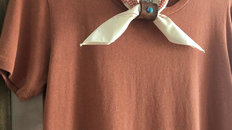 Rae Line Dress (Terracotta)