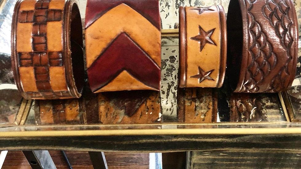 Allred Farms Leather Cuffs