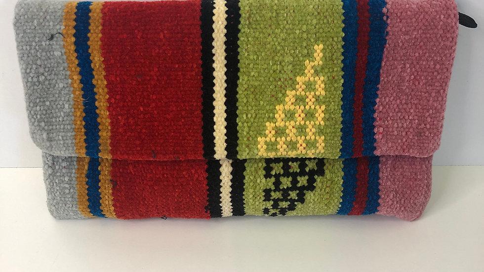 Moroccan Carpet Clutch