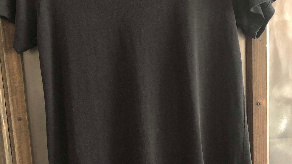 Rae Line Dress (Washed Black)