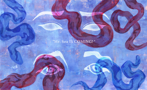 Mr. Sea is coming
