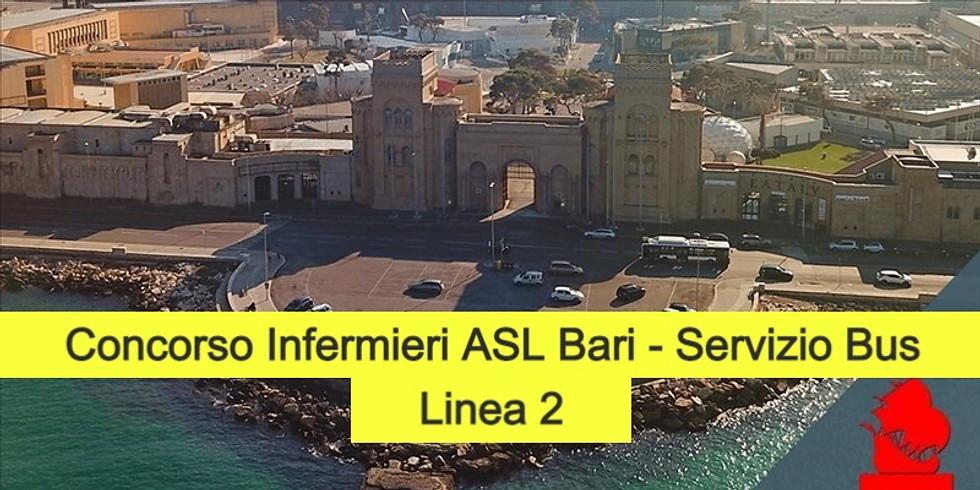 Concorso Infermieri ASL Bari - 18/02/2021 turno ore 14:00.