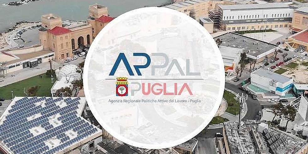 Concorso ARPAL - giorno 12/07/21 ore 13:30 e 16:30