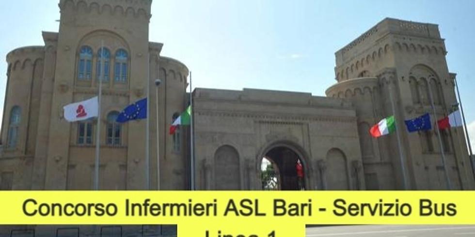 Concorso Infermieri ASL Bari - 16/02/2021 turno ore 8:30