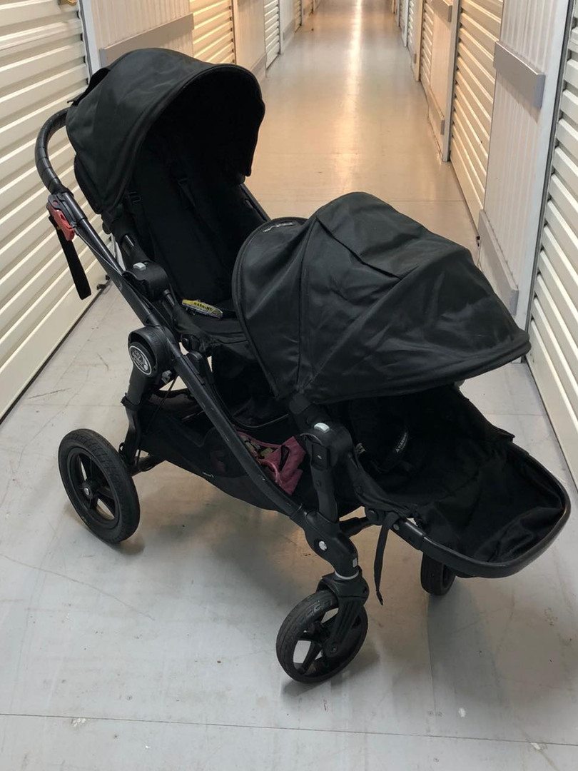 BABY JOGGER CITY SELECT INLINE TWIN PRAM